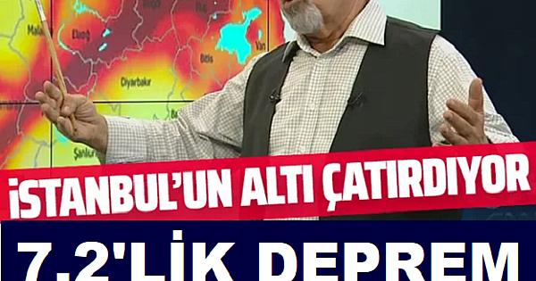 Prof. Dr. Naci Görür'den 7.2'lik deprem uyarısı! En riskli bölgeleri tek tek açıkladı